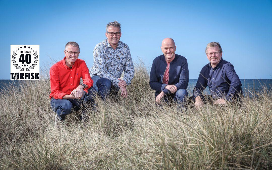 Tørfisk fejrer 40 års jubilæum i 2021 med kæmpe turné.